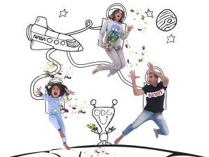 family-fun-storytelling-fairy tale-aliens-space-Iceberg Salat Centar-Mom-Dad-Child-Children-Kids