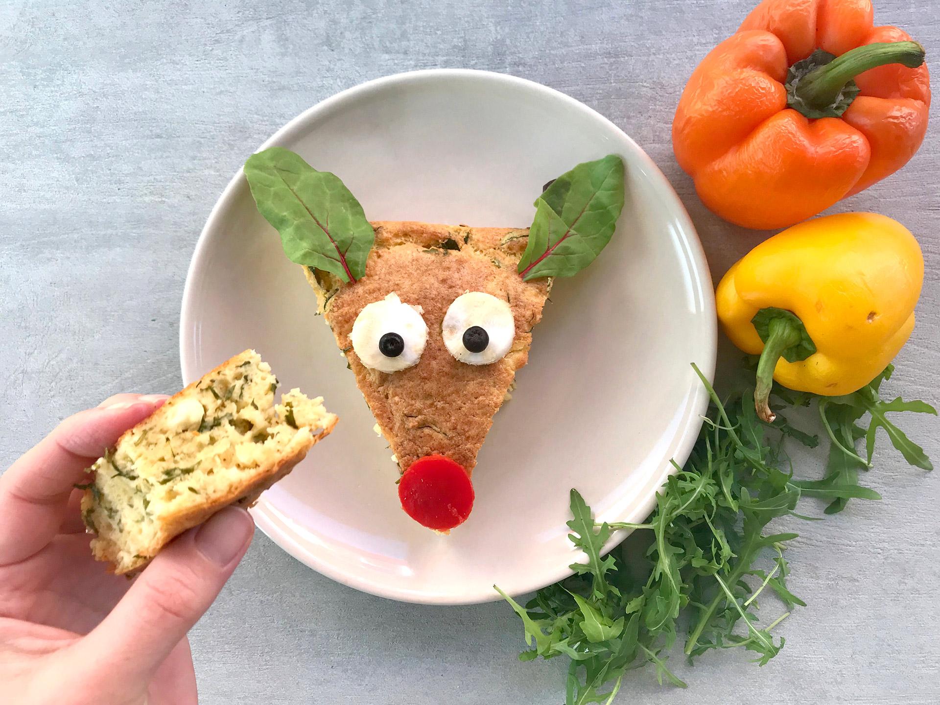pita-rocket salad