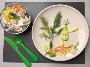 summer-salad-recipe-iceberg-Iceberg Salat Centar-dill