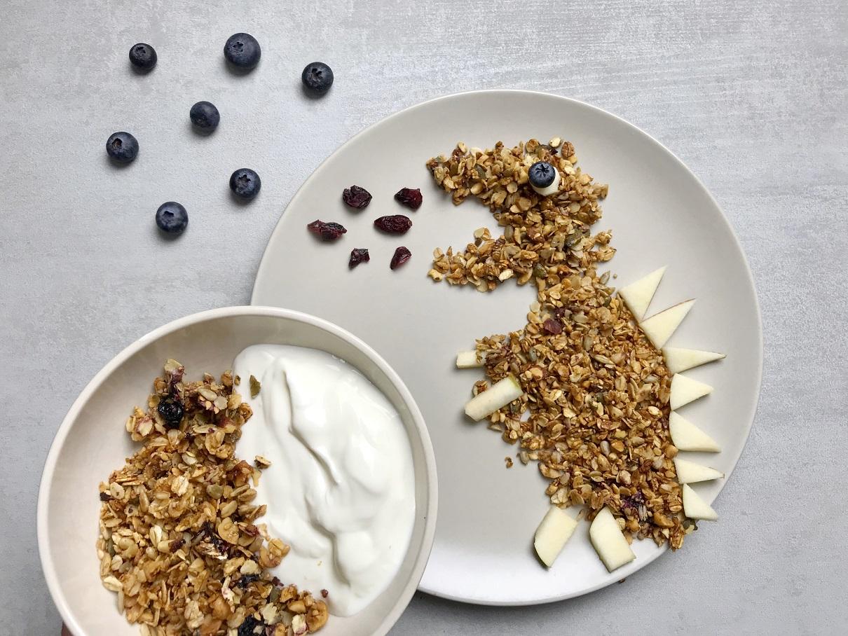 homemade granola-homemade musli-musli-granola-breakfast-meal-yogurt-recipe-Iceberg Salat Centar