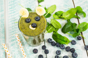 Blueberry Energy Booster Smoothie