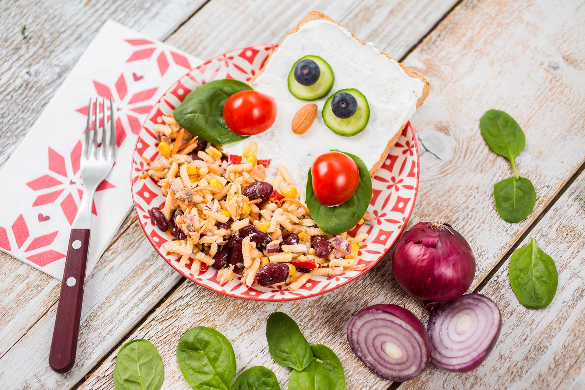 Tuna Salad with Black Beans